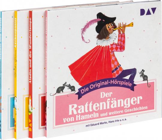 Die Märchenedition. Original-Hörspiele aus den 50er- und 60er-Jahren. 4 CDs.