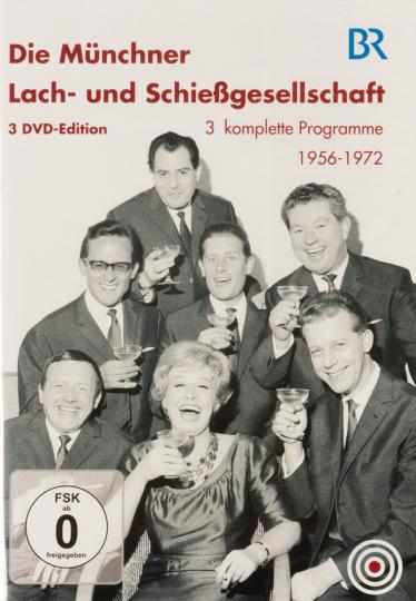 Die Münchner Lach- und Schießgesellschaft. 3 DVDs.