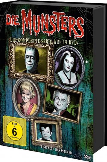 Die Munsters (Komplette Serie). 14 DVDs.