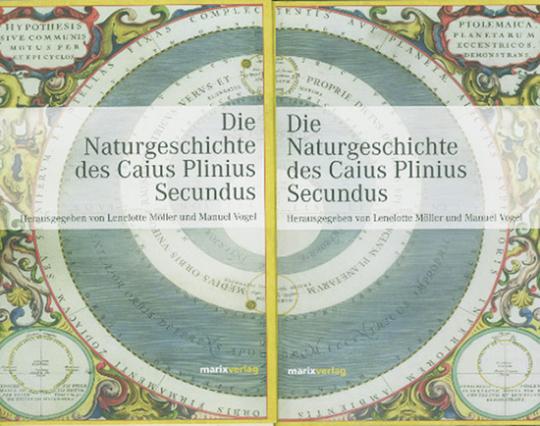 Die Naturgeschichte des Caius Plinius Secundus. 2 Bände.