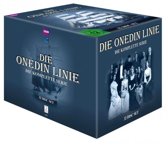 Die Onedin-Linie (Komplette Serie). 32 DVDs.