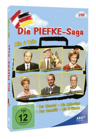 Die Piefke-Saga. 2 DVDs.