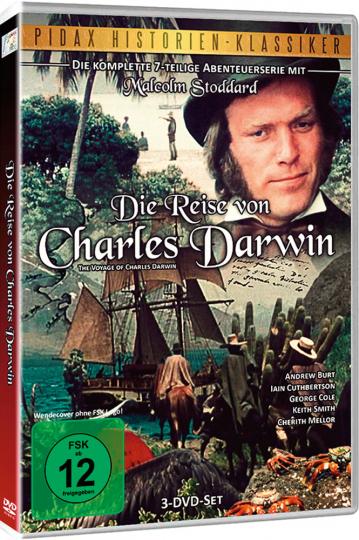 Die Reise von Charles Darwin (Komplett).. 3 DVDs.