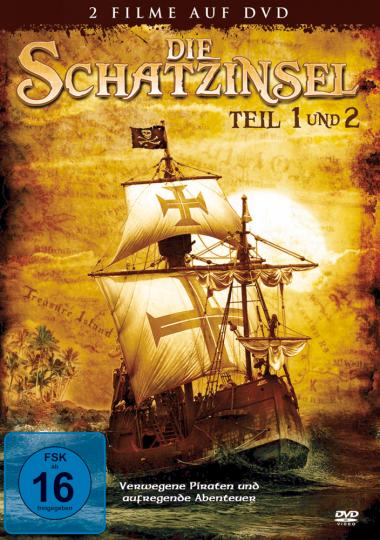 Die Schatzinsel - Teil 1 & 2 DVD
