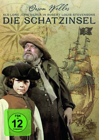 Die Schatzinsel. DVD.