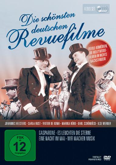 Die schönsten deutschen Revuefilme 4 DVDs