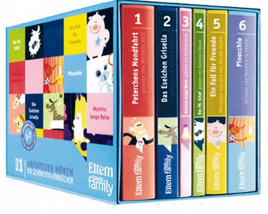 Die schönsten Hörbücher Box 1 und 2 im Set  25 CDs