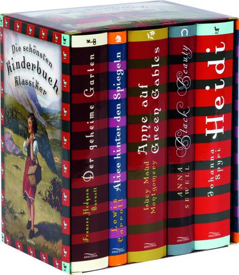 Die schönsten Kinderbuch-Klassiker: Der geheime Garten, Alice hinter den Spiegeln, Anne auf Green Gables, Black Beauty, Heidi.