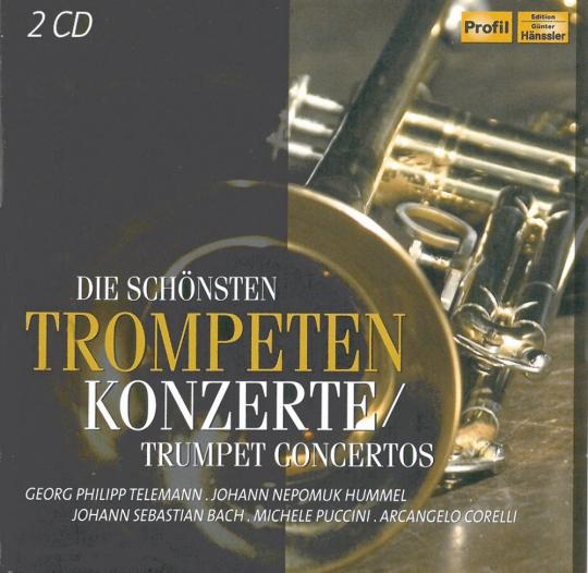 Die schönsten Trompetenkonzerte 2 CDs