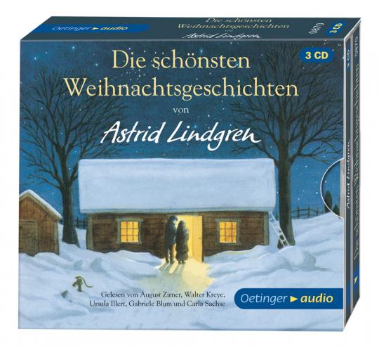 Die schönsten Weihnachtsgeschichten von Astrid Lindgren. Hörbuch-Box.