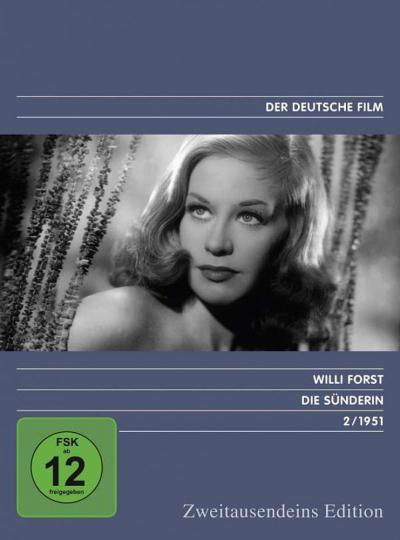 Die Sünderin. DVD.