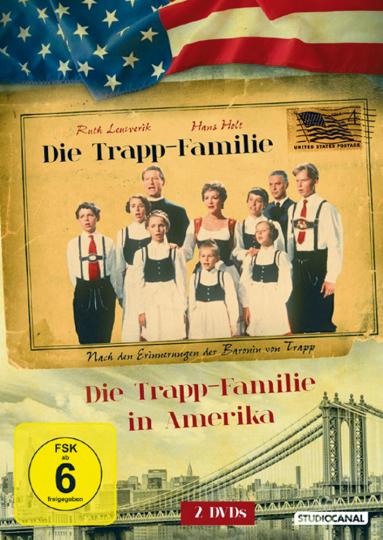 Die Trapp-Familie 2 DVDs