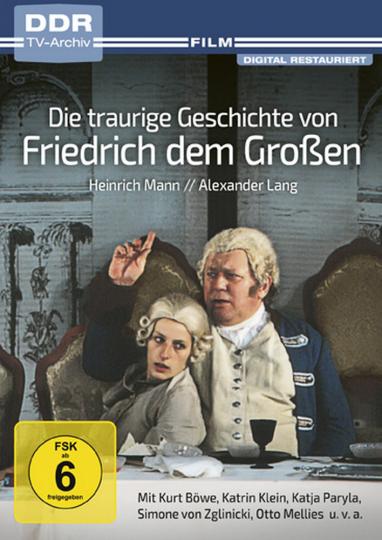 Die traurige Geschichte von Friedrich dem Großen. DVD.