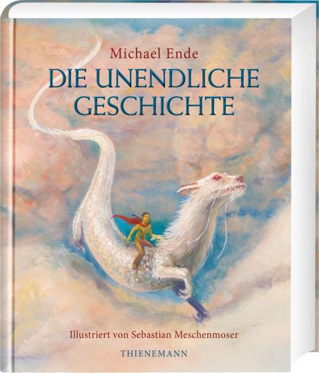 Die unendliche Geschichte. Farbig illustrierte Schmuckausgabe.