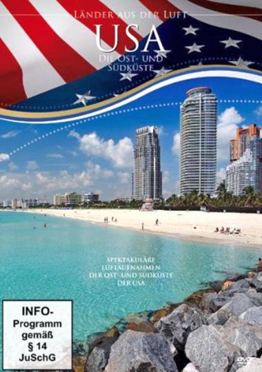Die USA - Ost- und Südküste aus der Luft DVD