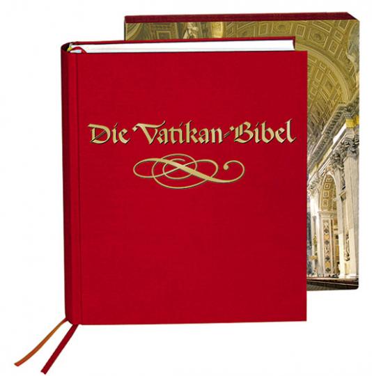 Die Vatikan Bibel. Die goldene Pracht. Leinenausgabe.