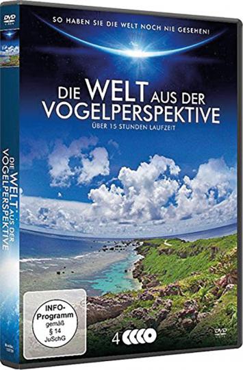 Die Welt aus der Vogelperspektive 4 DVDs