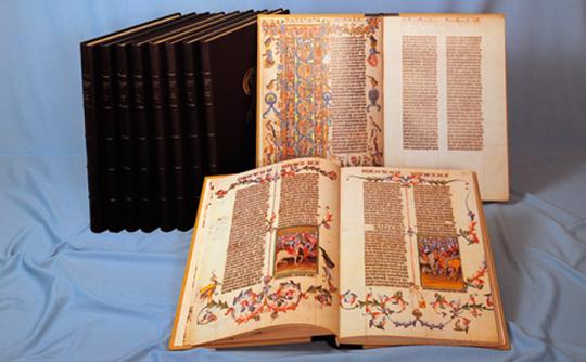 Die Wenzelsbibel. Gesamtausgabe. Faksimile.