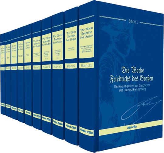 Die Werke Friedrichs des Großen. 10 Bände.