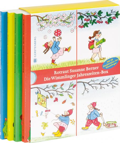 Die Wimmlinger Jahreszeiten-Box. 4 Bände.