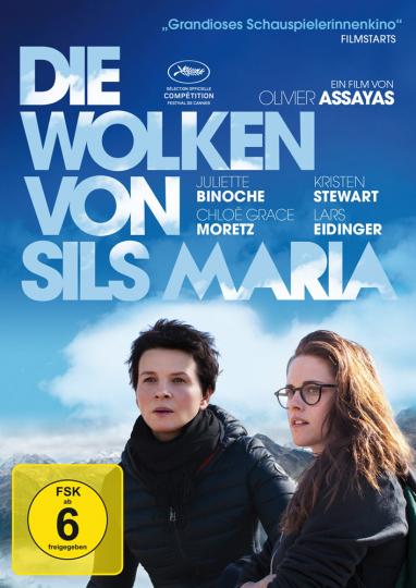 Die Wolken von Sils Maria. DVD.