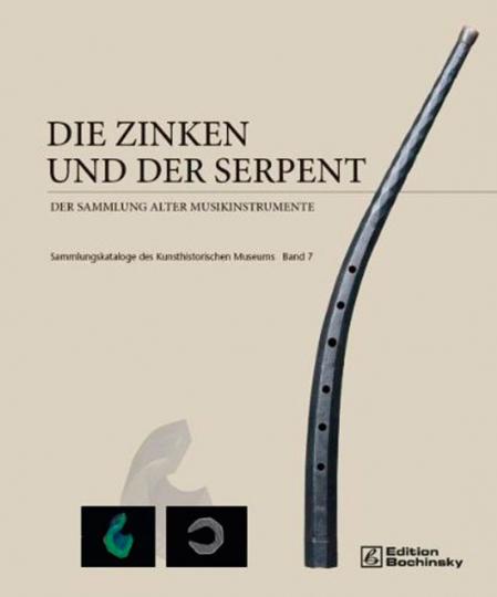 Die Zinken und der Serpent der Sammlung alter Musikinstrumente.