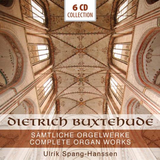 Dietrich Buxtehude. Sämtliche Orgelwerke. 6 CDs.