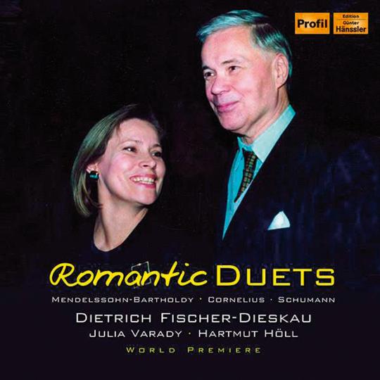 Dietrich Fischer-Dieskau & Julie Varady. Romantic Duets. CD.