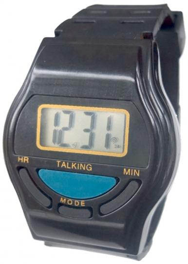 Digitale Armbanduhr mit Sprach- und Weckfunktion
