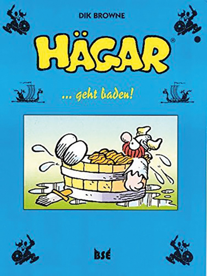 Dik Browne. Hägar geht baden. Band 8. Graphic Novel.