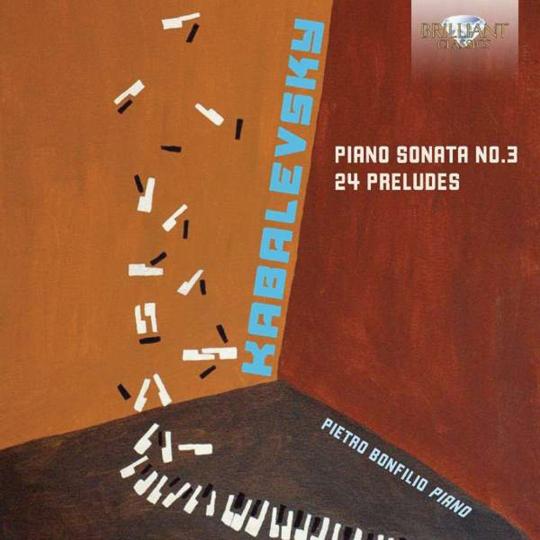Dimitry Kabalewsky. Klaviersonate Nr. 3 und 24 Preludes op. 38. CD.