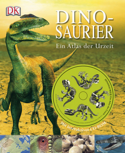 Dinosaurier - Atlas der Urzeit Buch & CD-ROM