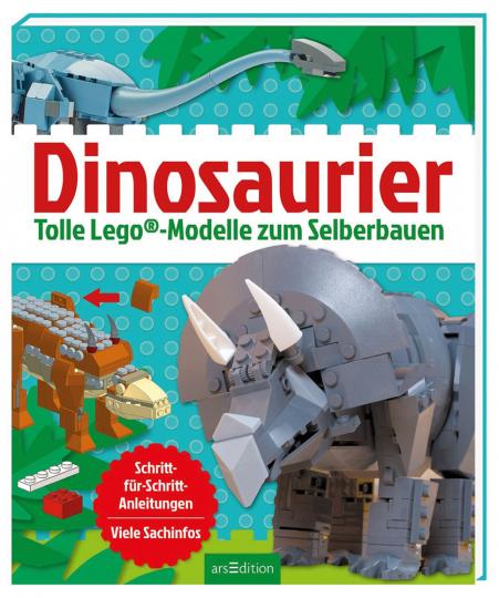 Dinosaurier. Tolle Lego Modelle zum Selberbauen.
