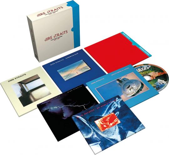 Dire Straits. The Studio Albums 1978-1991. 6 CDs.