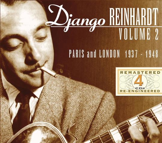 Django Reinhardt. Paris And London 1937 - 1948. 4 CDs.