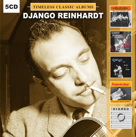 Django Reinhardt. Timeless Classic Albums. 5 CDs.