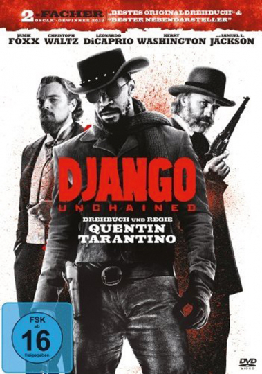Django Unchained. DVD.