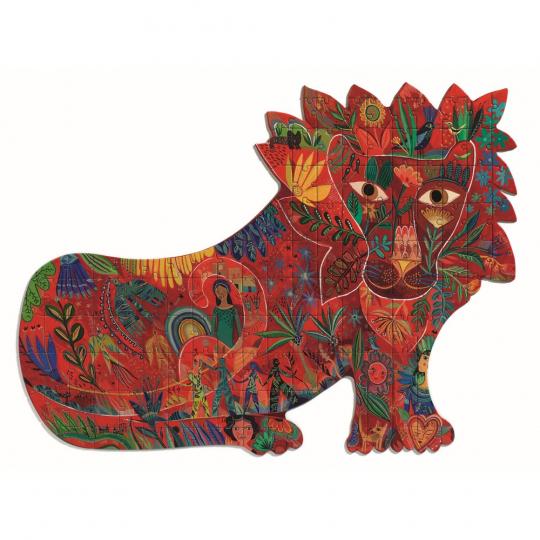Djeco Puzzle »Löwe«, 62 x 46 cm.