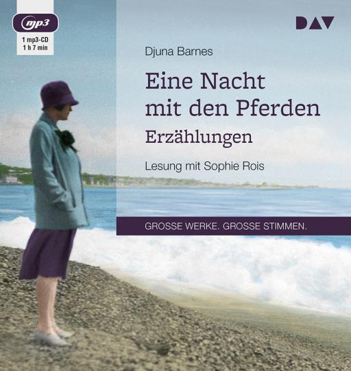 Djuna Barnes. Eine Nacht mit den Pferden. Erzählungen. mp3-CD.