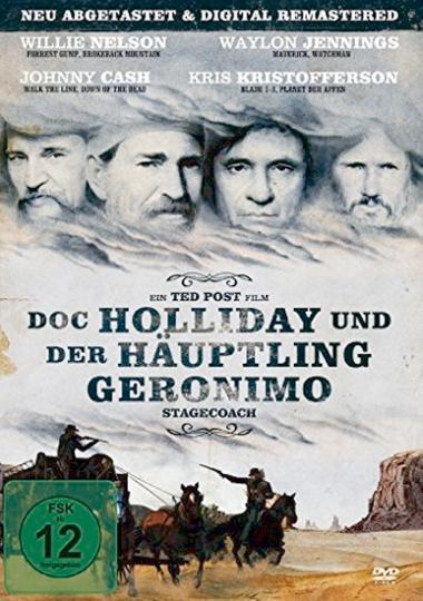Doc Holliday und der Häuptling Geronimo DVD