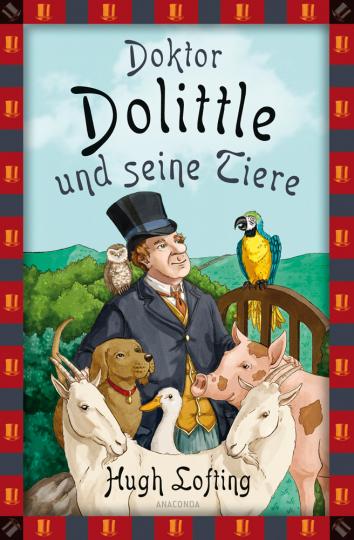 Doktor Dolittle und seine Tiere.