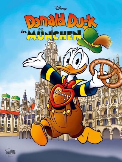 Donald Duck in München.