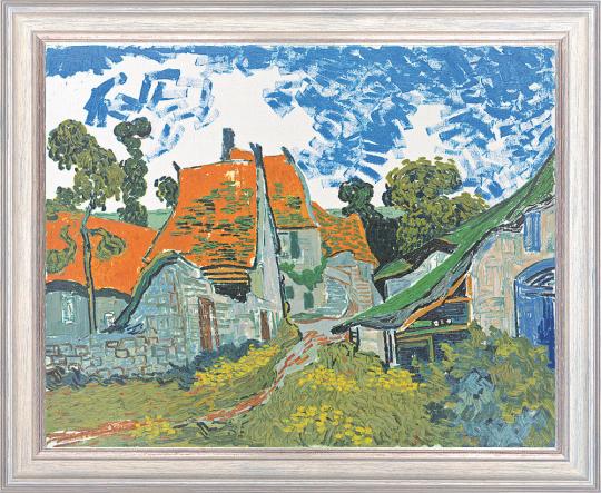 Dorfstraße in Auvers-sur-Oise. Vincent van Gogh (1853-1890).