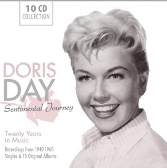 Doris Day. Sentimental Journey. Twenty Years in Music. Recordings from 1940-1960. Singles & 15 Original Albums.