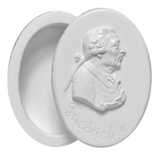 Dose oval - Friedrich der Große