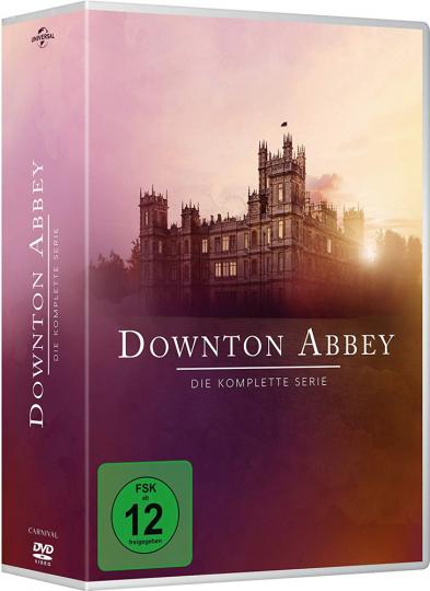 Downton Abbey (Komplette Serie) 26 DVD Box