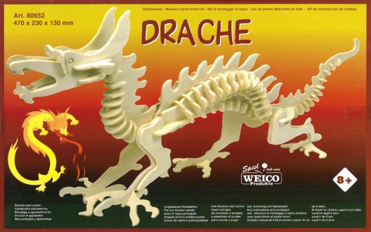 Drache – Holzbausatz
