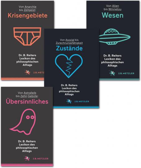 Dr. B. Reiters Lexikon des philosophischen Alltags. Krisengebiete, Übersinnliches, Wesen, Zustände. 4 Bände im Paket.