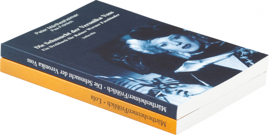 Drehbücher für Rainer Werner Fassbinder. Lola und Die Sehnsucht der Veronika Voss. 2 Bände im Set.