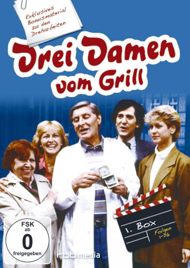 Drei Damen vom Grill 6 DVDs